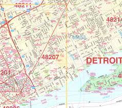 Kansas City Zip Code Map Zip Code Map Detroit Afputra Com