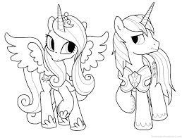 mlp princess cadence human get coloring pages