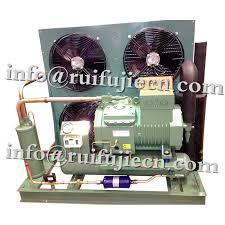 condensation chambre l air de bitzer a refroidi l unité de condensation 4nes 20y pour