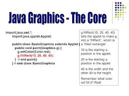 learn about the types of graphics that are available develop a