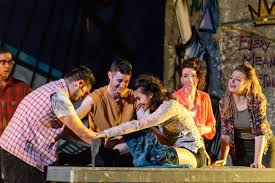 Summer Garden Theatre - review rent at annapolis summer garden theatre theatrebloom