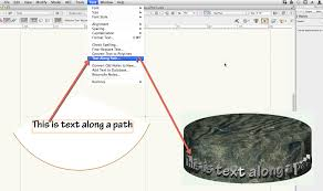 vectorworks tip 184 u2013 text u2013 text along a path archoncad com