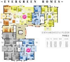 modern style apartment plans elevations floor designs