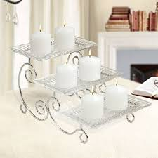 fifth avenue crystal estate 3 tier buffet server free shipping