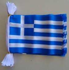 Greece Flag Colors Greece String Bunting Flags Custom Flags Australia
