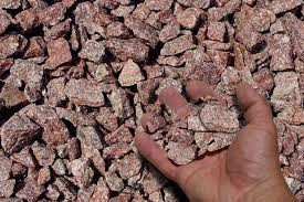 Red Landscape Rock by Using Stone Mulch For Landscaping Melvin Mulch