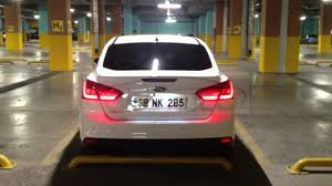 2014 ford focus tail light ford focus iii sedan led bar stop youtube