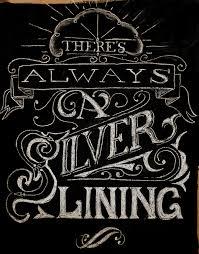 dribbble chalk lettering silver lining full jpg by pete adams