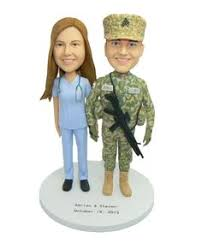 us military marine corps wedding cake topper kiss by spartacarla