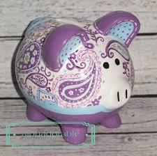 Pottery Barn Brooklyn Alphadorable Custom Piggy Bank To Coordinate With The Brooklyn