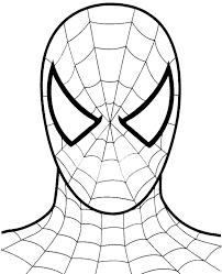 spiderman coloring 8 print color free