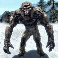 frost troll skyrim elder scrolls fandom powered wikia