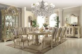 traditional dining room sets homey design white 12 pc traditional dining room set ebay