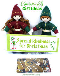 perfect random acts of kindness christmas gift tags natural