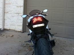 2013 2017 ninja zx 6r blaster x integrated led tail light custom led
