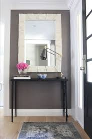 Entry Console Table With Mirror Entry Console Tables W Table With Mirror Used Narrow Tableentry