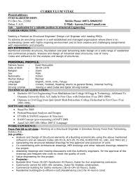 Resume Format For Engineering Jobs by Sample Resume For Engineering Job Resume For Your Job Application