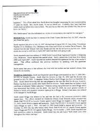 pre sentencing report