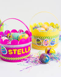 handmade easter baskets free easy hand sewn easter basket with