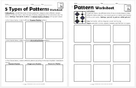 line pattern worksheet pattern worksheets create art with me