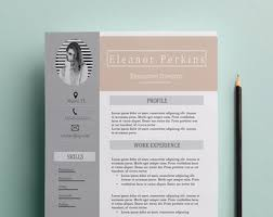 Teacher Resume Templates Word Teacher Resume Etsy