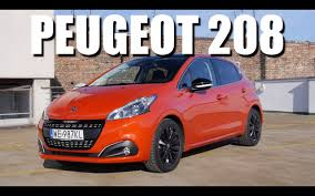 peugeot little car peugeot 208 2015 facelift eng test drive and review youtube