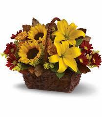 flower basket golden days basket in nuys ca nuys flower shop