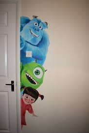 monsters inc wall mural google search nursery ideas monsters inc wall mural google search