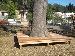 bench around a tree google search retaining wall ideas