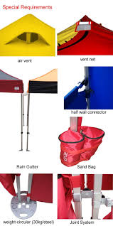Heavy Duty Gazebo Bag by 40mm Aluminum Frame Pop Up Tent Heavy Duty Gazebo Canopy For