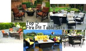 Fire Pit Tables And Chairs Sets - propane fire pit table set u2013 jackiewalker me