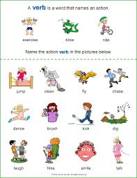 best ideas of verbs for kindergarten worksheets about letter