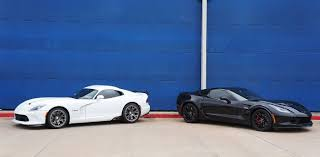 corvette vs viper stock vs stock c7 z06 corvette vs v viper srt 10 ta