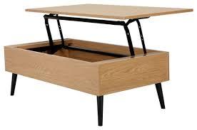 Lift Top Coffee Table Plans Top Caleb Brown Wood Lift Storage Coffee Table Midcentury