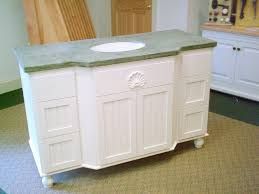 Raising Bathroom Vanity Height White Wooden Vanity Plus Storage Also Oval Sink On The Gray