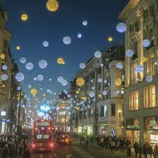oxford street in london decorated for christmas 2016 u2013 motrlt