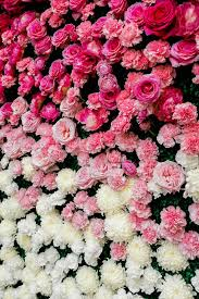 wedding backdrop trends kate spade inspired ballroom wedding flower wall backdrop