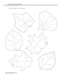 best photos of fall leaf templates printable free fall leaf