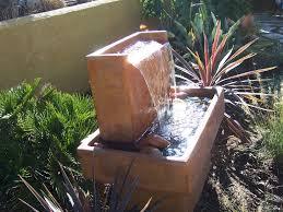 contemporary outdoor water fountains peaceful design ideas 16