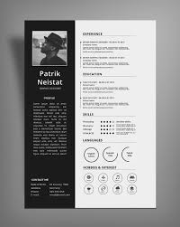 cv design simple resume cv design template free psd file resume