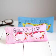 personalised glasses case by rosiebull designs