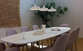 fritz hansen dining table 3daysofdesign the apartment by republic of fritz hansen danish