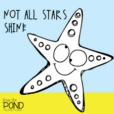 Starfish Meme - compound words starfish from the pond