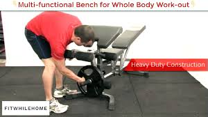 Bench For Working Out Advanced Multi Purpose Adjustable Bench U2013 Fitwhilehome