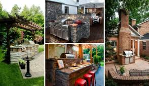 How To Design Your Backyard How To Create A Brick Barbecue For Your Backyard Decor Advisor