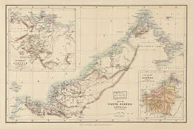 Bates College Map 1881 British Map Of North Borneo Sulu Online Library