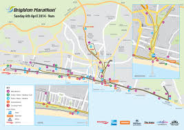 Marathon Route Map by Faster Flatter Brighton Marathon Course Revealed The Argus