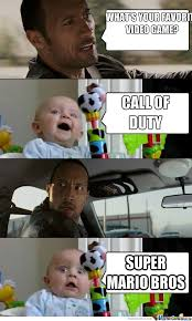Most Common Memes - babies the most common call of duty players by christiangamer