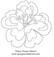 free flower stencils you can print shadow grass or cat tails