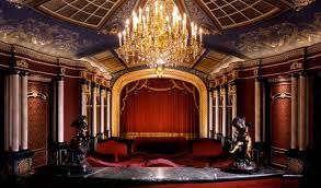 old hollywood home movie theaters custom home theater blends